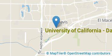 Location of University of California - Davis