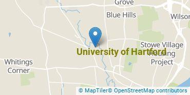 Location of University of Hartford