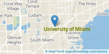 Location of University of Miami