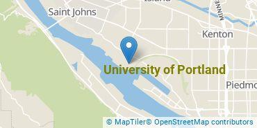 Location of University of Portland