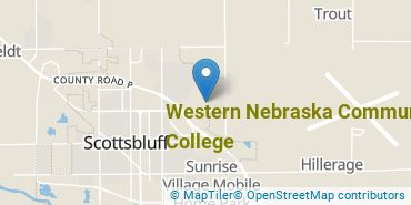 Location of Western Nebraska Community College