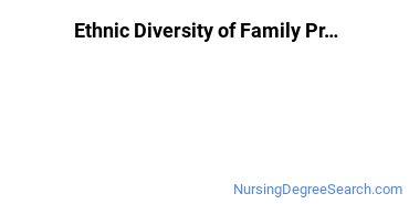 Family Practice Nursing Majors in MD Ethnic Diversity Statistics