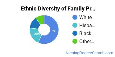 Family Practice Nursing Majors in NJ Ethnic Diversity Statistics