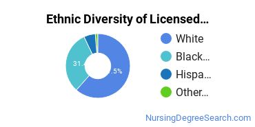 Licensed Practical Nursing Majors in NH Ethnic Diversity Statistics