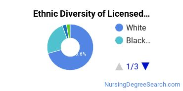 Licensed Practical Nursing Majors in TN Ethnic Diversity Statistics