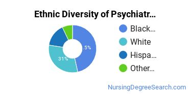 Mental Health Nursing Majors in FL Ethnic Diversity Statistics