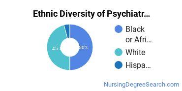 Mental Health Nursing Majors in IL Ethnic Diversity Statistics