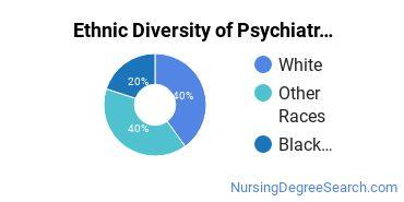 Mental Health Nursing Majors in NV Ethnic Diversity Statistics
