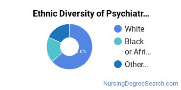 Mental Health Nursing Majors in VA Ethnic Diversity Statistics