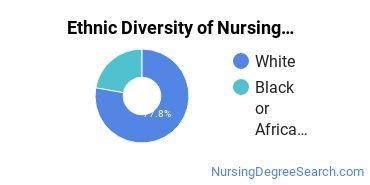 Nurse Midwifery Majors in TX Ethnic Diversity Statistics