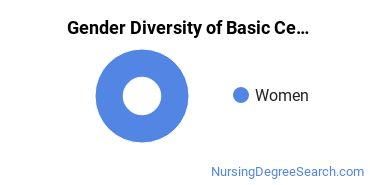 Gender Diversity of Basic Certificates in Nursing Administration