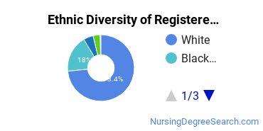 Registered Nursing Majors in AL Ethnic Diversity Statistics